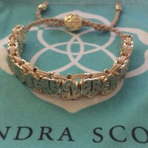 Kendra Scott Gold Tone Leaves with Cord